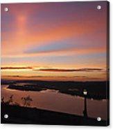 Summer Skies At Crown Point Acrylic Print