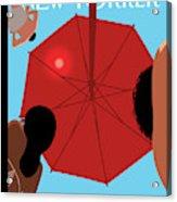 Summer Sky Acrylic Print by Christoph Niemann