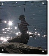 Summer Sparkle Acrylic Print