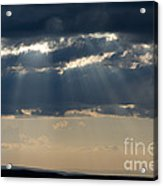 Summer Storm Clouds Acrylic Print
