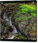 Summer Stream Waterfall Acrylic Print