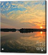 Summer Sunrise Acrylic Print