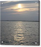 Summer Sunset Over Freeport Acrylic Print