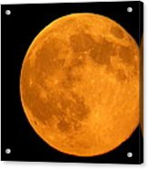 Summer Supermoon Acrylic Print by Stephen Melcher