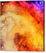 Summer Swirl Acrylic Print by Pixel Chimp