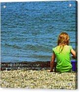 Summer Time On The Coast Of Maine Acrylic Print