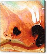Summer Vacation Aqua Art Acrylic Print