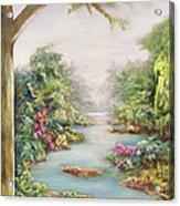 Summer Vista  Acrylic Print by Hannibal Mane