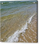 Summer Waves Acrylic Print