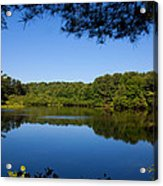 Summers Blue View Acrylic Print