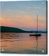 Summers Calm End Acrylic Print