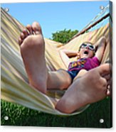 Summertime And The Livin' Is Easy Acrylic Print by Laura Fasulo