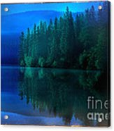 Summertime Blues Acrylic Print by The Stone Age