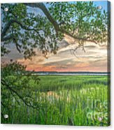 Summertime Sunset Acrylic Print