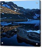 Summit Lake Calm Acrylic Print