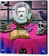 Summoning Edgar Allan Poe Acrylic Print