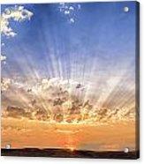 Sun Beams Acrylic Print