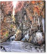 Sun Cave Acrylic Print