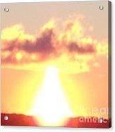 Sun Fireball In The Sky Acrylic Print