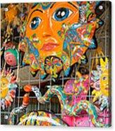 Wimberley Texas Sun Goddess And Her Court Acrylic Print
