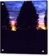 Sun Going Down Acrylic Print by Regina McLeroy