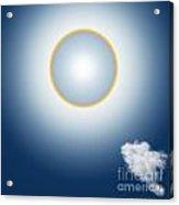Sun Halo Acrylic Print by Atiketta Sangasaeng