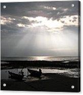 Sun In The Clouds Acrylic Print