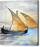 Sun In The Sails  Acrylic Print