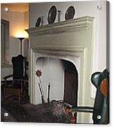 Sun Inn Fireplace Acrylic Print