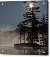Sun Is Up At The Lake Acrylic Print