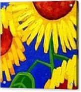 Sun Lovers Acrylic Print