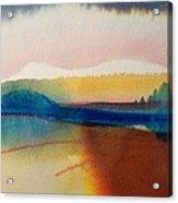 Sun Mountain For Jennifer B Acrylic Print