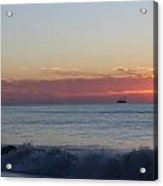 Sun N Waves At Dawn Acrylic Print
