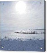 Sun On Snow Acrylic Print
