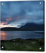 Sun On The Loch Acrylic Print by Ed Pettitt