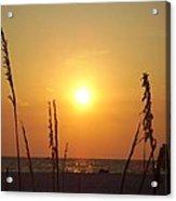 Sun Over The Ocean Acrylic Print