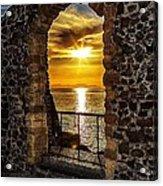 Sun Panorama Acrylic Print