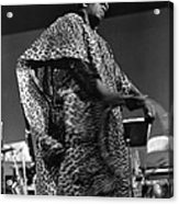 Sun Ra 1968 Acrylic Print by Lee  Santa