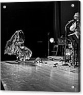 Sun Ra Dancer And Marshall Allen Acrylic Print by Lee  Santa
