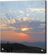 sun rays II Acrylic Print