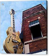 Sun Studio Entrance Acrylic Print