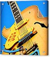 Sun Studio Guitar Acrylic Print
