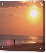 Sun Surf And Sea Acrylic Print