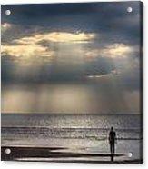 Sun Through The Clouds 1 Acrylic Print
