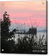 Sun To Rise On The Chesapeake Bay Acrylic Print