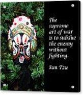 Sun Tzu's The Art Of War Acrylic Print
