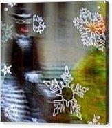 Sunbaked Snowflake Acrylic Print