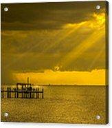 Sunbeams Of Hope Acrylic Print