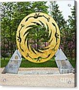 Sunbird Sculpture, Chengdu, China Acrylic Print