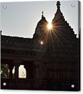 Sunburst At The Temple Of The 64 Yoginis Acrylic Print